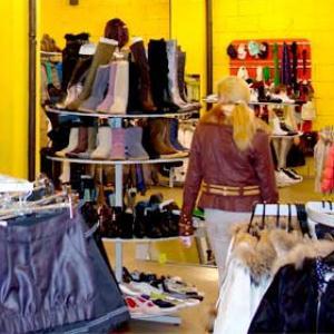 Магазины одежды и обуви Духовщины